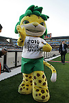 13 JUN 2010: Zakumi, the World Cup mascot. The Serbia National Team lost 0-1 to the Ghana National Team at Loftus Versfeld Stadium in Tshwane/Pretoria, South Africa in a 2010 FIFA World Cup Group D match.