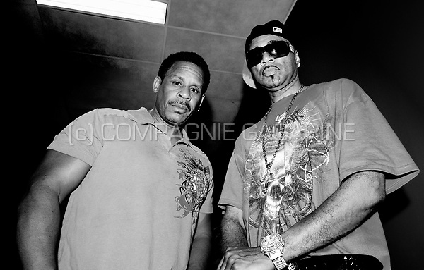 hip hop pioneers The Sugarhill Gang, backstage at the 7YCC party in Ghent (Belgium, 01/05/2009)