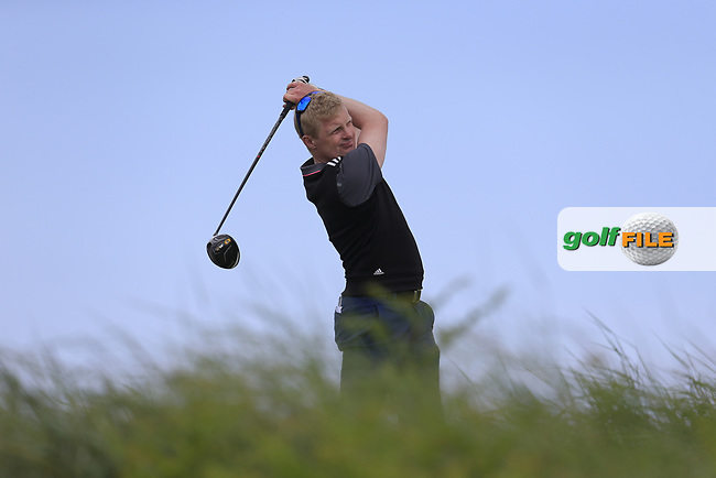 Robert NEville (The Links Portmarnock) during the 1st round of the East of Ireland championship, Co Louth Golf Club, Baltray, Co Louth, Ireland. 02/06/2017<br /> Picture: Golffile | Fran Caffrey<br /> <br /> <br /> All photo usage must carry mandatory copyright credit (&copy; Golffile | Fran Caffrey)