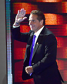Governor Andrew Cuomo (Democrat of New York) departs after making remarks during the fourth session of the 2016 Democratic National Convention at the Wells Fargo Center in Philadelphia, Pennsylvania on Thursday, July 28, 2016.<br /> Credit: Ron Sachs / CNP<br /> (RESTRICTION: NO New York or New Jersey Newspapers or newspapers within a 75 mile radius of New York City)