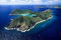 Ginger Island Aerial<br /> British Virgin Islands