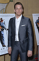 Jake Abel @ the premiere of 'I Saw The Light' held @ the Egyptian theatre.<br /> March 22, 2016