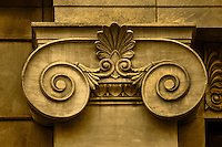 Architectural Detail - Sepia Toned