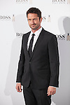 Scottish actor Gerard Butler attends Hugo Boss promotional event in Madrid, Spain. February 03, 2015. (ALTERPHOTOS/Victor Blanco)