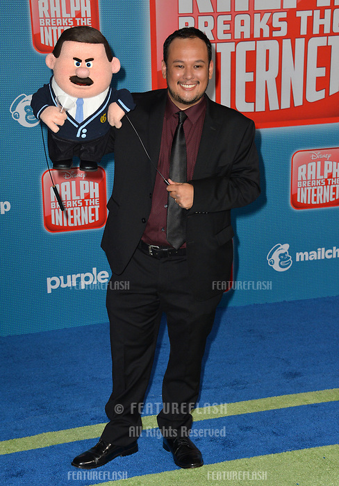 LOS ANGELES, CA. November 05, 2018: Raymond Persi at the world premiere of &quot;Ralph Breaks The Internet&quot; at the El Capitan Theatre.<br /> Picture: Paul Smith/Featureflash