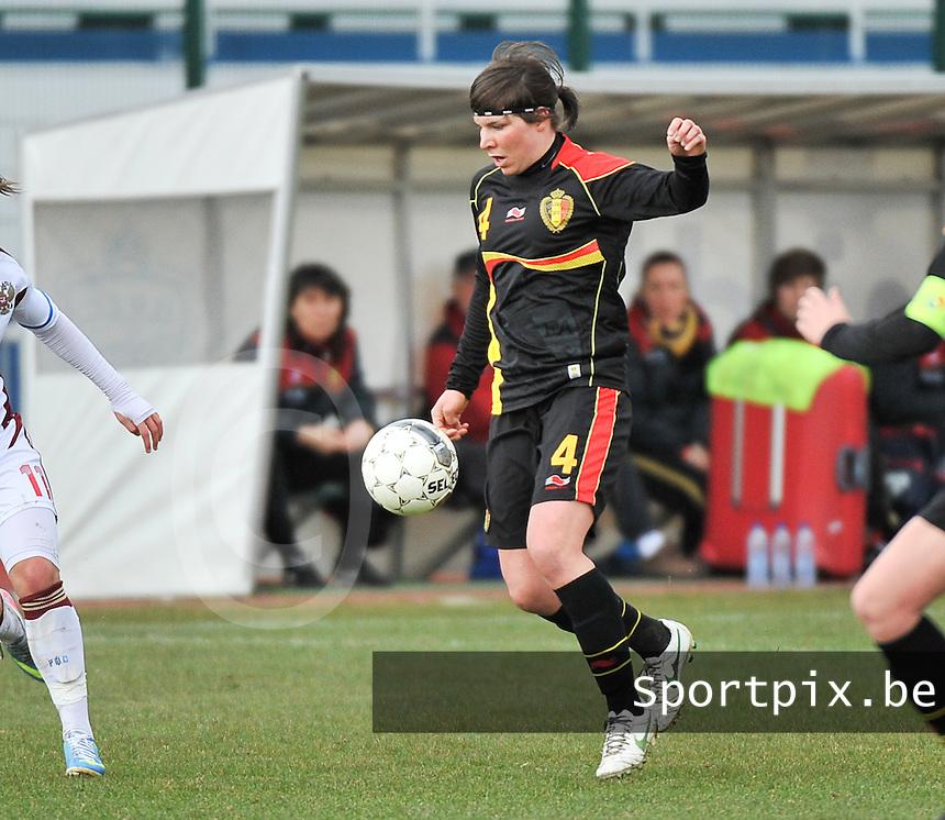 Russia U19 - Belgium U19 :  Karen Verrydt (4).foto DAVID CATRY / Nikonpro.be