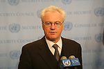 RUSSIAN AMB Vitaly Ivanovich Churkin