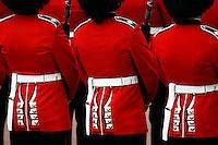Guardsmen in London, UK