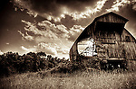 An old redundant farm barn