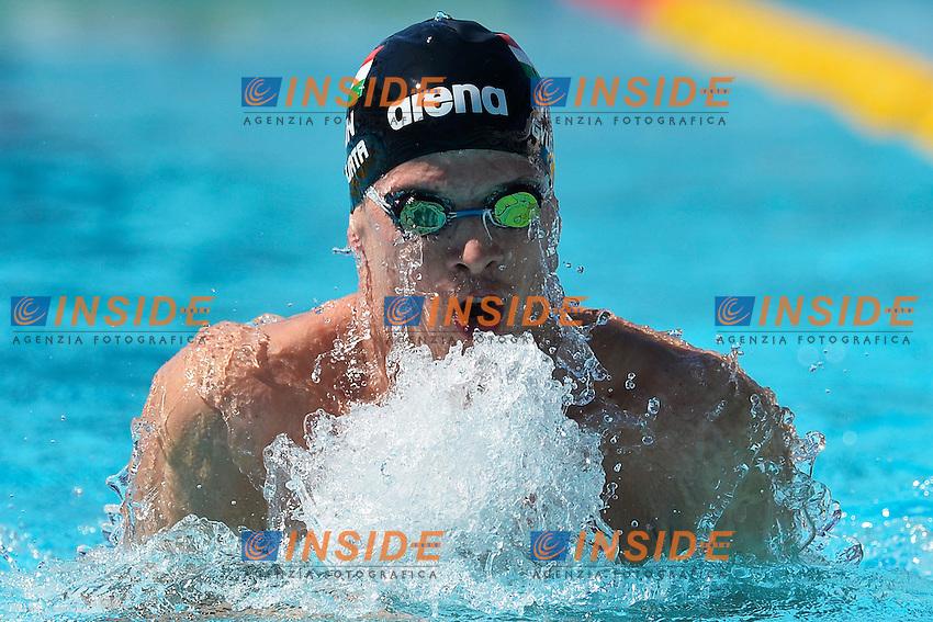 Daniel Gyurta Hungary 100m Breaststroke Men <br /> Roma 13/6/2013 Piscina del Foro Italico <br /> Nuoto 50mo trofeo Settecolli<br /> Settecolli 50th International swimming trophy <br /> Foto Andrea Staccioli Insidefoto