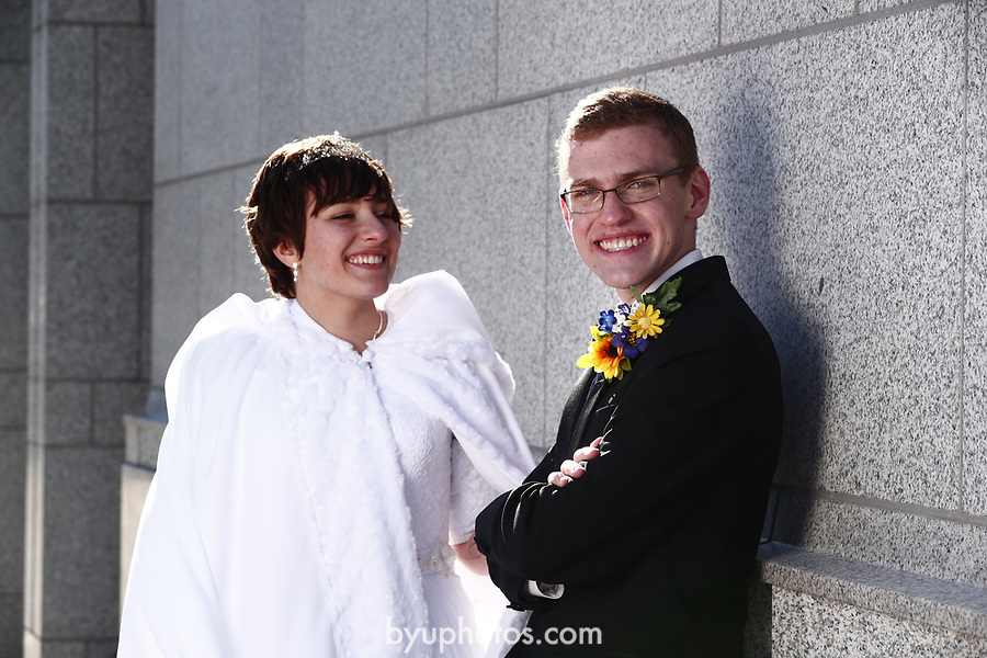 JSW 1711 Anderson Wedding 638<br /> <br /> JSW 1711 Anderson Wedding<br /> <br /> Derek and Becky Anderson - Draper Temple<br /> <br /> December 28, 2017<br /> <br /> Jaren Wilkey/BYU<br /> <br /> &copy; BYU PHOTO 2017<br /> All Rights Reserved<br /> photo@byu.edu  (801)422-7322
