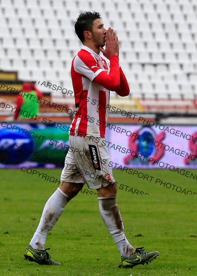 Fudbal Jelen Super League season 2015-2016<br /> Crvena Zvezda v Vozdovac<br /> Marko Grujic reacts<br /> Beograd, 28.11.2015.<br /> foto: Srdjan Stevanovic/Starsportphoto&copy;