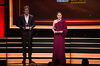 Amy Adams &amp; Michael Shannon at the American Cinematheque 2017 Award Show at the Beverly Hilton Hotel, Beverly Hills, USA 10 Nov. 2017<br /> Picture: Paul Smith/Featureflash/SilverHub 0208 004 5359 sales@silverhubmedia.com