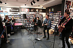 The Sherlocks launch their new album Under Your Sky with an intimate gig at HMV Meadowhall, Sheffield, United Kingdom, 9th October 2019. Photo by Glenn Ashley.