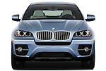 Straight front view of a 2010 BMW Active Hybrid X6