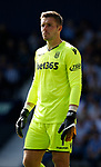 Jack Butland of Stoke City during the premier league match at the Hawthorn's Stadium, West Bromwich. Picture date 27th August 2017. Picture credit should read: Simon Bellis/Sportimage