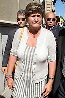 Susanna Camusso<br /> Roma 29-09-2014 Sede della CISL. Incontro tra i sindacati sulla riforma del Lavoro<br /> Photo Samantha Zucchi Insidefoto