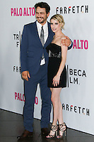 "LOS ANGELES, CA, USA - MAY 05: James Franco, Emma Roberts at the Los Angeles Premiere Of Tribeca Film's ""Palo Alto"" held at the Directors Guild of America on May 5, 2014 in Los Angeles, California, United States. (Photo by Celebrity Monitor)"
