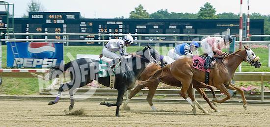 R B Encore winning at Delaware Park on 8/16/10