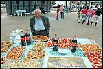 La festa dei vicini 2006 in piazza Tartini.