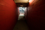 A corridor of the National Stadium during the match Scotland vs Wales, Day 2 of the HSBC Singapore Rugby Sevens as part of the World Rugby HSBC World Rugby Sevens Series 2016-17, on 16 April 2017 in Singapore. Photo by Victor Fraile / Power Sport Images
