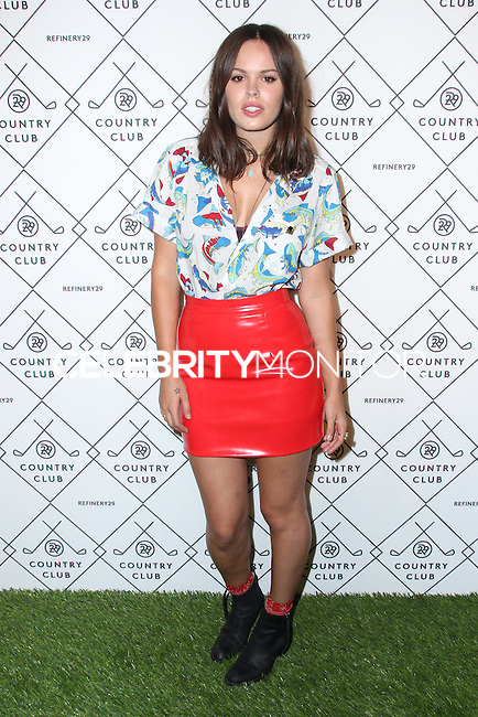 NEW YORK CITY, NY, USA - SEPTEMBER 04: Atlanta de Cadenet Taylor arrives at the Refinery29 Country Club Launch & NYFW Kick-Off Party held at 82 Mercer on September 4, 2014 in New York City, New York, United States. (Photo by Jeffery Duran/Celebrity Monitor)