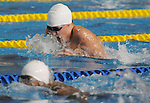 November 13 2011 - Guadalajara, Mexico: Dalton Boon during a race in the Scotiabank Aquatics Center at 2011 Parapan American Games in Guadalajara, Mexico.  Photos: Matthew Murnaghan/Canadian Paralympic Committee