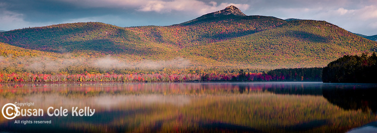 Fall foliage on Mount Chocorua in Tamworth, White Mountains, NH