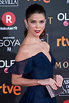 Juana Acosta attends red carpet of Goya Cinema Awards 2018 at Madrid Marriott Auditorium in Madrid , Spain. February 03, 2018. (ALTERPHOTOS/Borja B.Hojas)