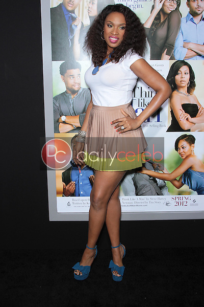 "Jennifer Hudson<br /> at the Pan-African Film Festival ""Think Like A Man"" Premiere, Arclight, Hollywood, CA 02-09-12<br /> David Edwards/DailyCeleb.com 818-249-4998"