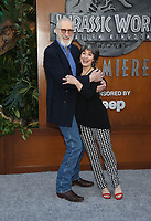 LOS ANGELES, CA - JUNE 12: James Cromwell, Anna Stuart, at Jurassic World: Fallen Kingdom Premiere at Walt Disney Concert Hall, Los Angeles Music Center in Los Angeles, California on June 12, 2018. <br /> CAP/MPIFS<br /> &copy;MPIFS/Capital Pictures