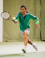 March 7, 2015, Netherlands, Hilversum, Tulip Tennis Center, NOVK, Frank Lapré (NED)<br /> Photo: Tennisimages/Henk Koster