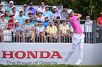 Martin Kaymer (DEU) watches his tee shot on 1 during round 3 of the Honda Classic, PGA National, Palm Beach Gardens, West Palm Beach, Florida, USA. 2/25/2017.<br /> Picture: Golffile | Ken Murray<br /> <br /> <br /> All photo usage must carry mandatory copyright credit (&copy; Golffile | Ken Murray)