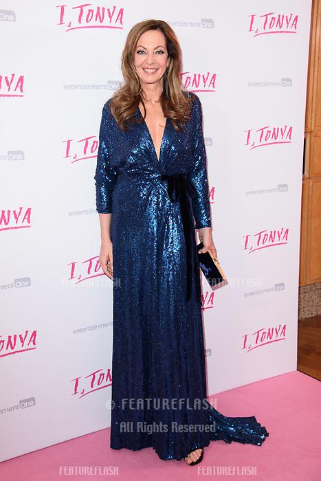 "Alison Janney at the ""I, Tonya"" premiere at the Curzon Mayfair, London, UK. <br /> 15 February  2018<br /> Picture: Steve Vas/Featureflash/SilverHub 0208 004 5359 sales@silverhubmedia.com"