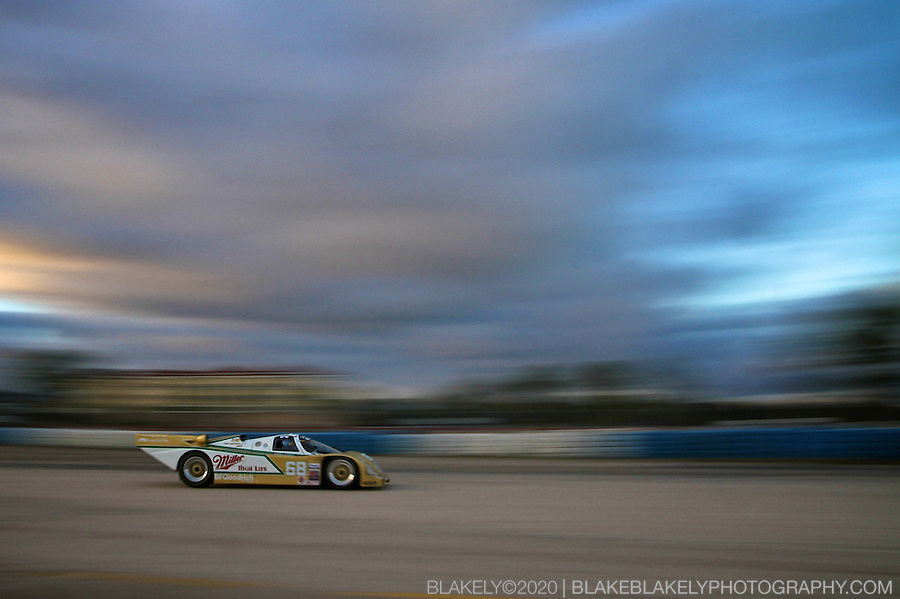 #68 Miller Porsche 962 at the HSR Sebring Fall Classic