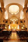 Santiuario de la Santisima Vera Cruz. Interior. Caravaca de la Cruz. Murcia.