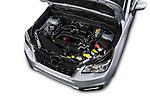 Car Stock 2017 Subaru Forester Comfort 5 Door Wagon Engine  high angle detail view