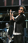 ROCK & ROLL HALL OF FAME CONCERT AT MADISON SQUARE GARDEN Lenny Kravitz,