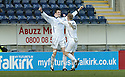03/02/2007       Copyright Pic: James Stewart.File Name : sct_jspa04_falkirk_v_st_johnstone.KEVIN JAMES CELEBRATES WITH STEVEN ANDERSON AFTER HE SCORES ST JOHNSTONE'S SECOND.....James Stewart Photo Agency 19 Carronlea Drive, Falkirk. FK2 8DN      Vat Reg No. 607 6932 25.Office     : +44 (0)1324 570906     .Mobile   : +44 (0)7721 416997.Fax         : +44 (0)1324 570906.E-mail  :  jim@jspa.co.uk.If you require further information then contact Jim Stewart on any of the numbers above.........