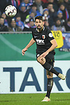 06.02.2019,  GER; DFB Pokal, Holstein Kiel vs FC Augsburg ,DFL REGULATIONS PROHIBIT ANY USE OF PHOTOGRAPHS AS IMAGE SEQUENCES AND/OR QUASI-VIDEO, im Bild Einzelaktion Hochformat  Rani Khedira (Augsburg #08)  Foto © nordphoto / Witke