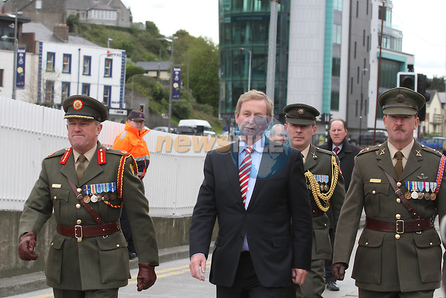 Enda Kenny taking part in the Famine Commemoration in Drogheda, Co.Louth...(Photo Jenny Matthews/www.newsfile.ie)