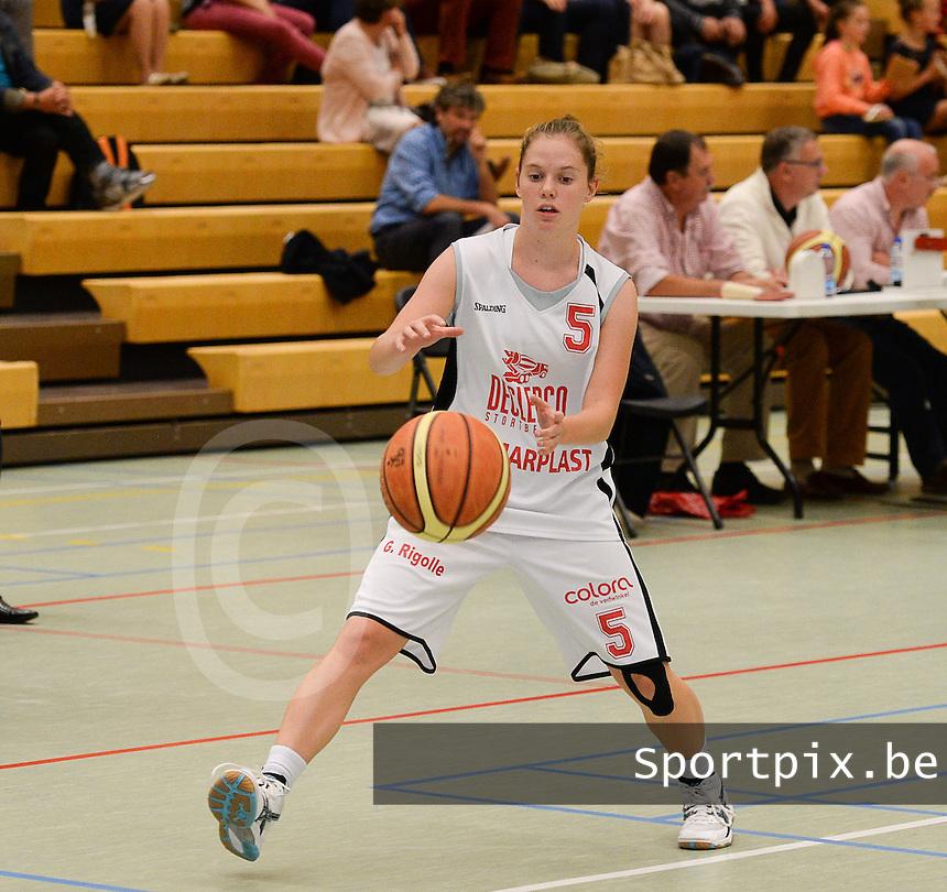 DBC Waregem : Ann Schijvens <br /> foto VDB / BART VANDENBROUCKE