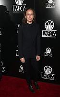 11 January 2020 - Century City, California - Céline Sciamma. 2020 Los Angeles Critics Association (LAFCA) Awards Ceremony held at the InterContinental Los Angeles Century City. Photo Credit: FS/AdMedia