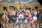 BIRTHDAY: A big birthday for Liam Diggins as he reaches the good age of 40th and his family and friends held a birthday party for him in the Stretford Inn Function rooms, on Saturday night (Liam is seated 4th from right).