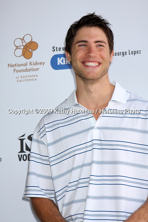 Bryan Fisher  arriving at the National Kidney Foundation Celebrity Golf Classic  at the Lakeside Lakeside Golf Club in Burbank, CA onMay 4, 2009.©2009 Kathy Hutchins / Hutchins Photo....                .