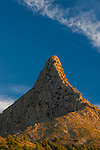 "El Realet mountain called locally ""The Shark's Teeth"""