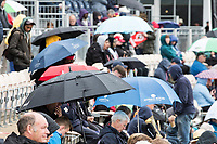 No Sign of the rain abating during South Africa vs West Indies, ICC World Cup Cricket at the Hampshire Bowl on 10th June 2019