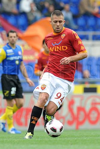 23 04 2011  Jeremy Menez Roma. Roma versus Chievo.  Series A Stadio Olimpico Rome, Italy.
