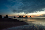 USA, Washington, Olympic National Park, Shi Shi Beach