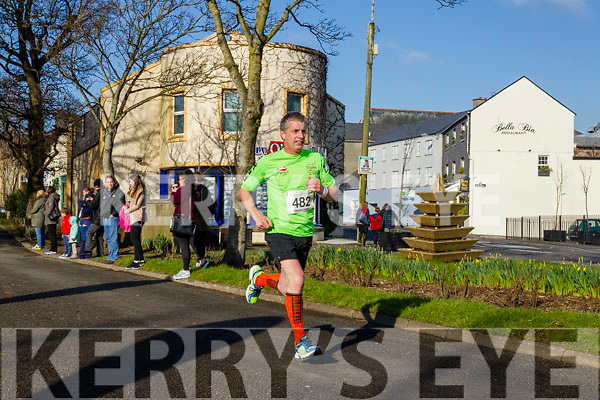 David Walsh, pictured at the Kerry's Eye Valentines Weekend 10 mile road race on Sunday.